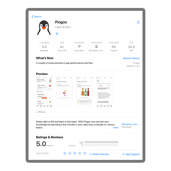 Pingoo app download gray